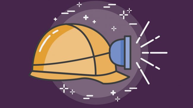Illustration of hard hat